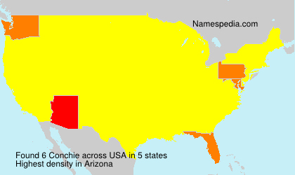 Surname Conchie in USA