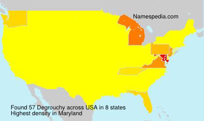 Degrouchy - USA