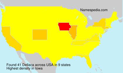 Surname Dellaca in USA