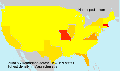 Surname Demariano in USA