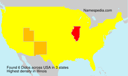 Surname Didos in USA