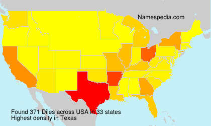 Surname Diles in USA
