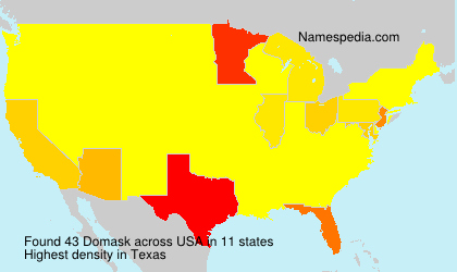 Surname Domask in USA