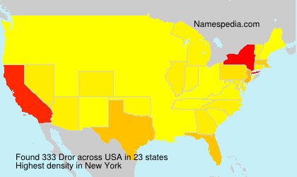 Surname Dror in USA
