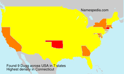 Surname Dugg in USA