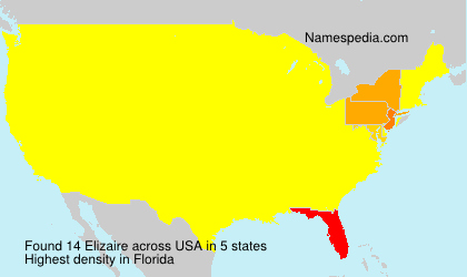 Surname Elizaire in USA