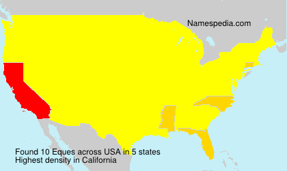 Surname Eques in USA