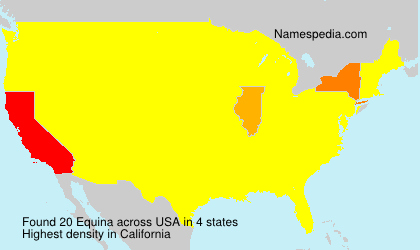 Surname Equina in USA