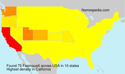 Faamausili - USA