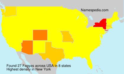 Fagyas - Names Encyclopedia