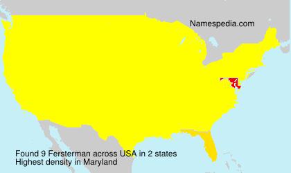 Fersterman