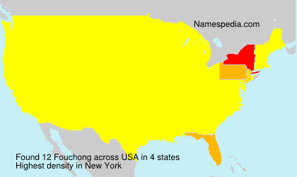 Surname Fouchong in USA