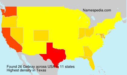 Gebray - USA