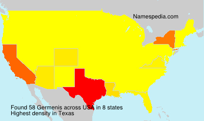 Surname Germenis in USA