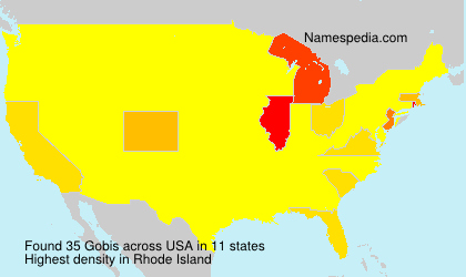 Surname Gobis in USA