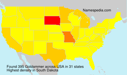 Surname Goldammer in USA