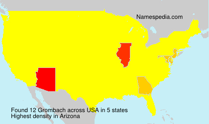 Surname Grombach in USA