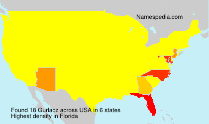 Surname Gurlacz in USA