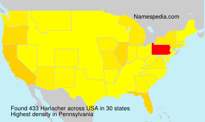Surname Harlacher in USA