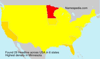 Surname Headline in USA