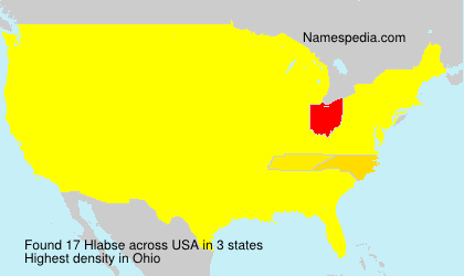 Surname Hlabse in USA