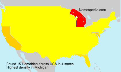 Surname Homaidan in USA
