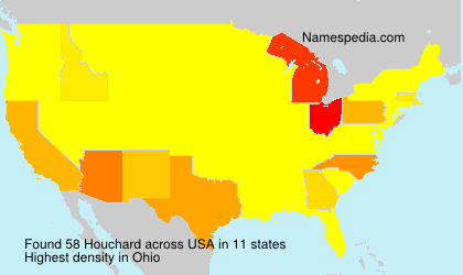 Surname Houchard in USA