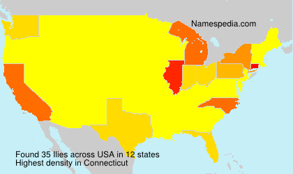 Surname Ilies in USA