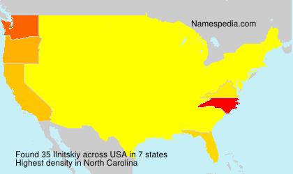 Ilnitskiy - Names Encyclopedia