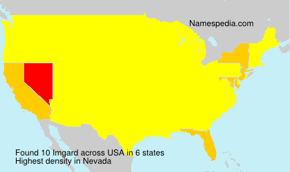 Surname Imgard in USA