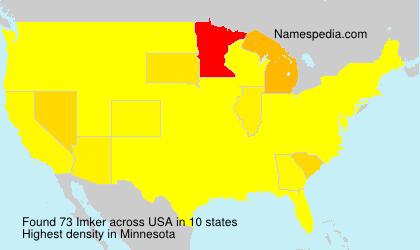 Surname Imker in USA