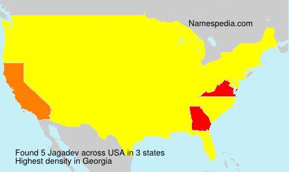 Surname Jagadev in USA