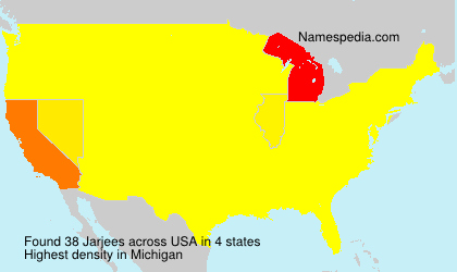 Surname Jarjees in USA