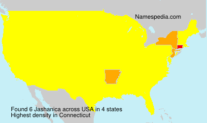 Surname Jashanica in USA