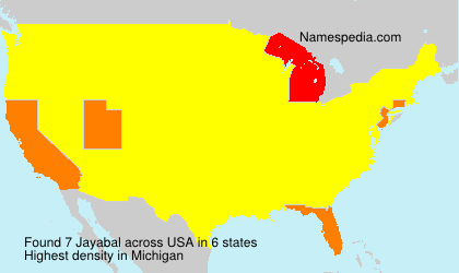 Surname Jayabal in USA