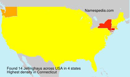 Familiennamen Jellinghaus - USA