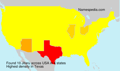 Surname Jitaru in USA