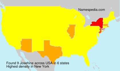 Surname Josehine in USA