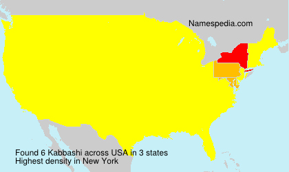 Surname Kabbashi in USA