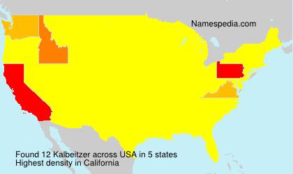 Kalbeitzer