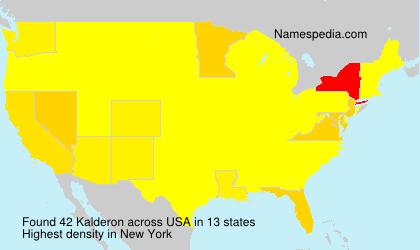 Kalderon - USA