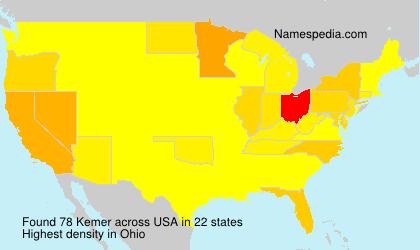 Surname Kemer in USA