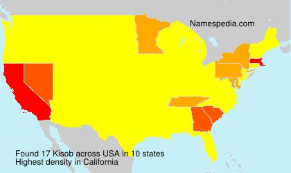 Kisob - Names Encyclopedia