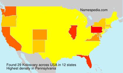 Kolosvary - USA