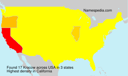 Surname Kracow in USA