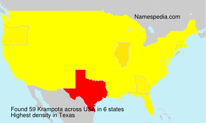 Surname Krampota in USA