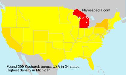 Surname Kucharek in USA