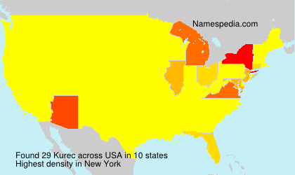 Surname Kurec in USA