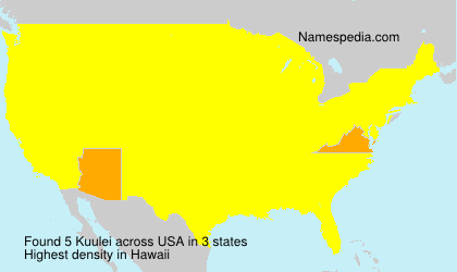Surname Kuulei in USA