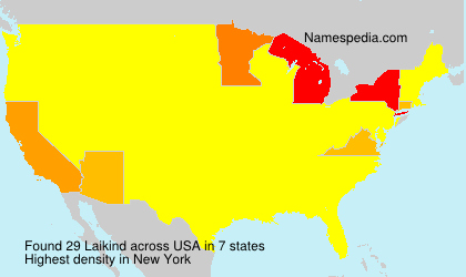 Surname Laikind in USA